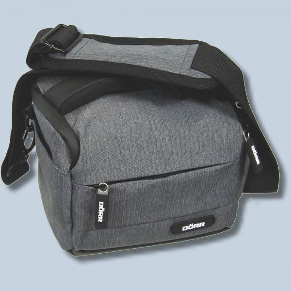 Dörr Fototasche Motion S in grau Kameratasche für Systemkameras,  Bridgekameras und kleine DSLR Kameras Tasche Bag dmsg 47a9d5389a