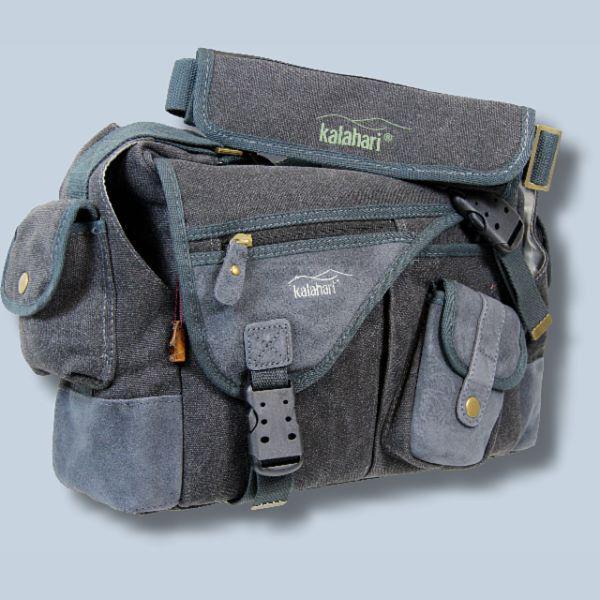 wasserdichte Tasche für Canon EOS 1D x Mark II 7D Mark II 6D 1Dx 7D -  Kalahari Kapako K-31 Canvas schwarz inkl. Regenschutz K 3 24a7e092f0